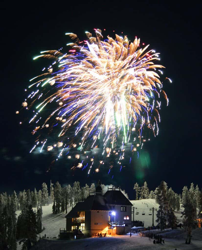 Fireworks on Bavarian Night