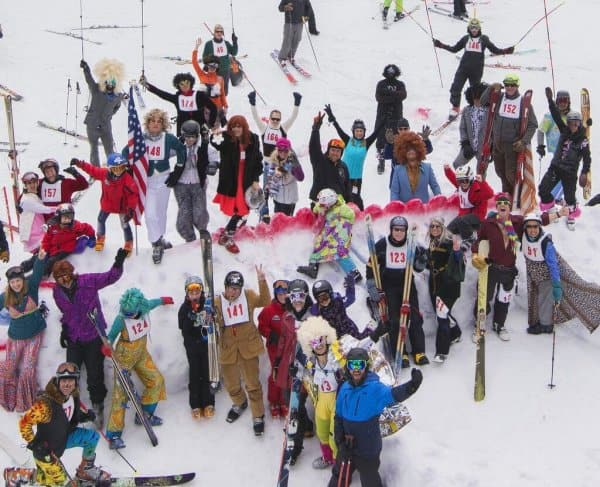 The Screamin' Tele Lizard Classic is a telemark GS race - with a twist!
