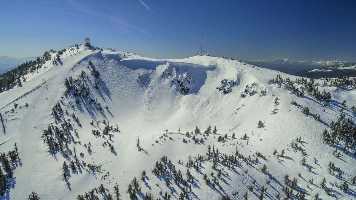"Mt. Ashland's ""Bowl"""