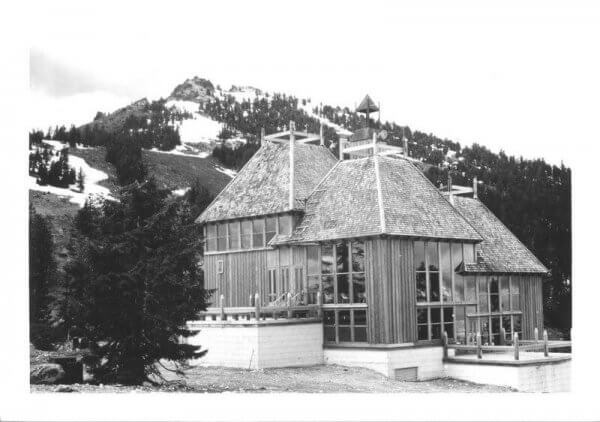 Completed Lodge in 1964