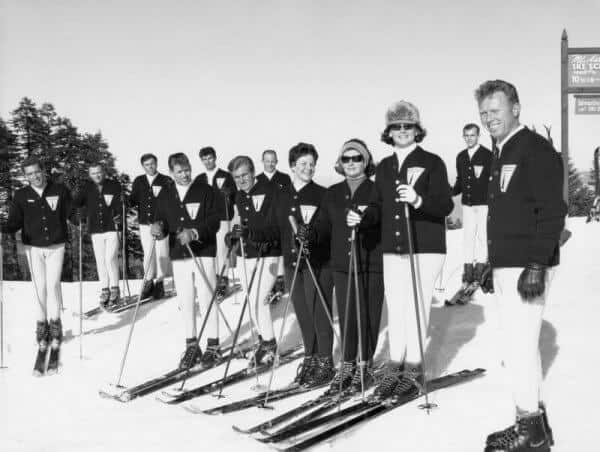 early ski school