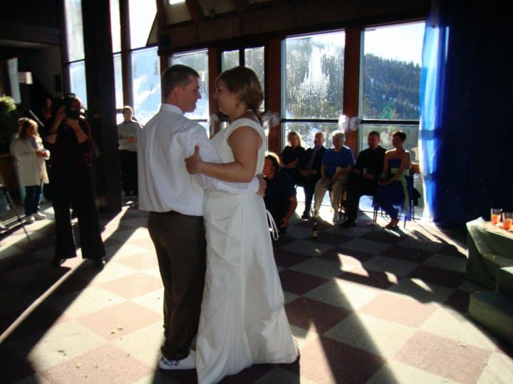 Wedding at Mt. Ashland