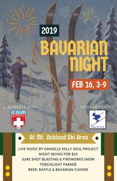 Bavarian Night is an awesome party and fundraiser for the Mt. Ashland Ski Patrol