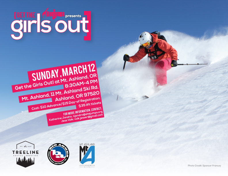 Get the Girls Out at Mt. Ashland