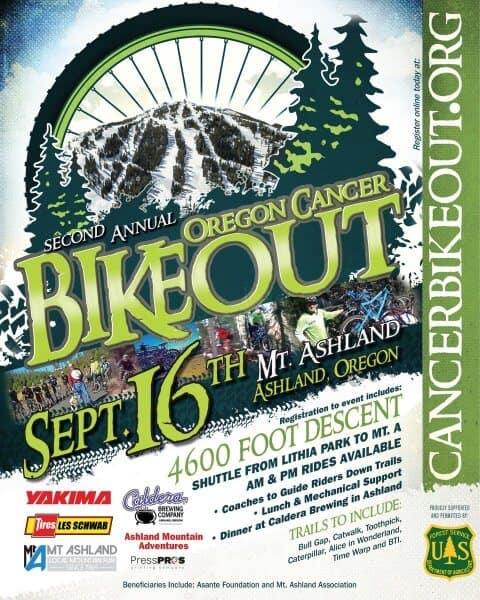 Oregon Cancer Bike Out 2017