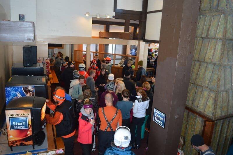 Crowded Lodge