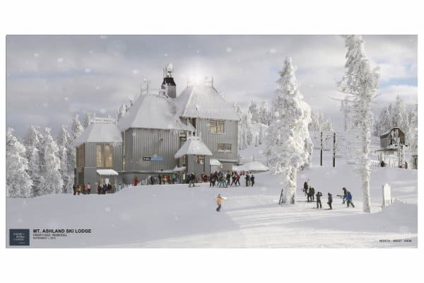 Proposed renovations of the Mt. Ashland Lodge