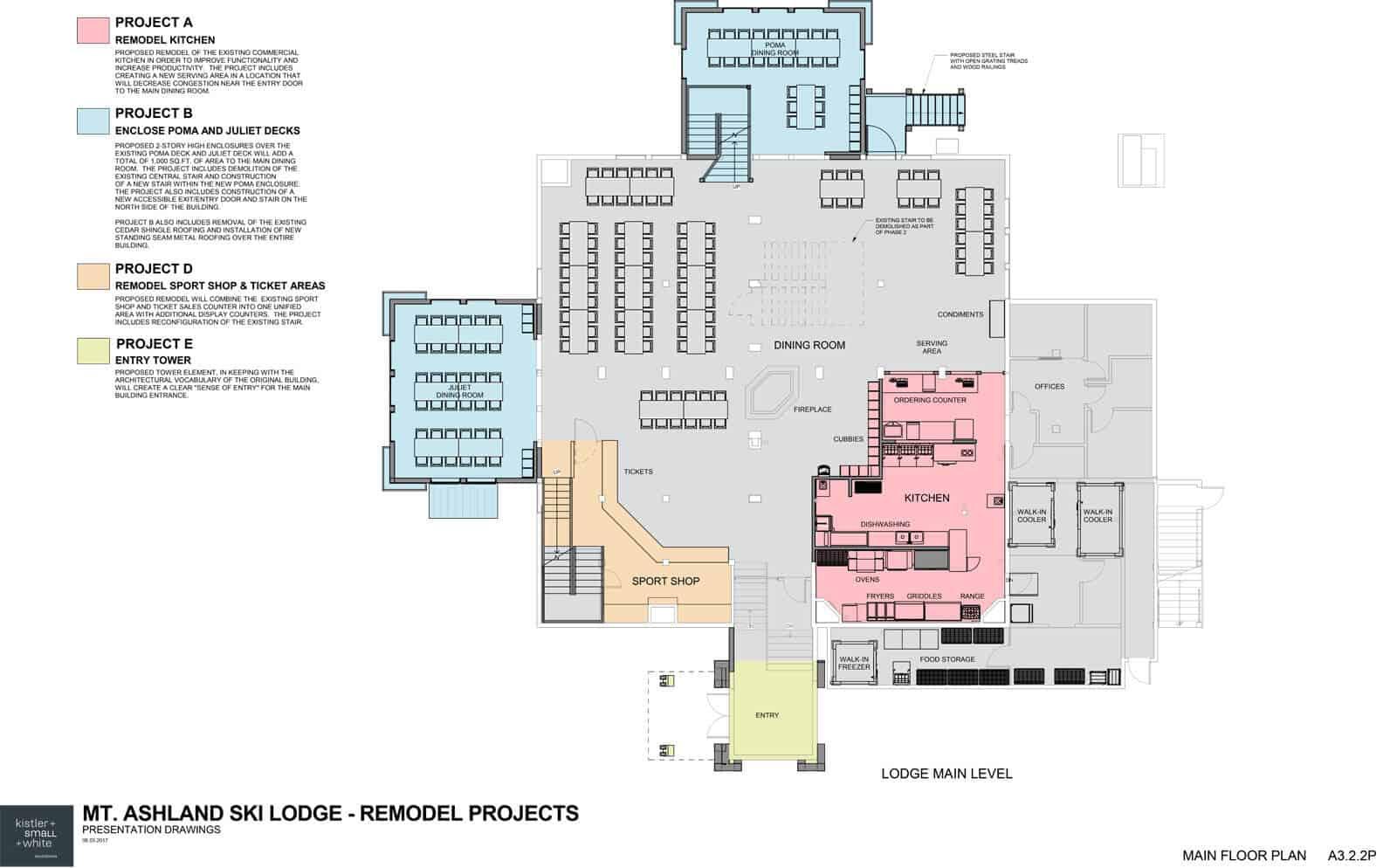 Proposed Lodge Main Floor Plan