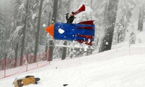 Dummy Downhill at Mt. Ashland