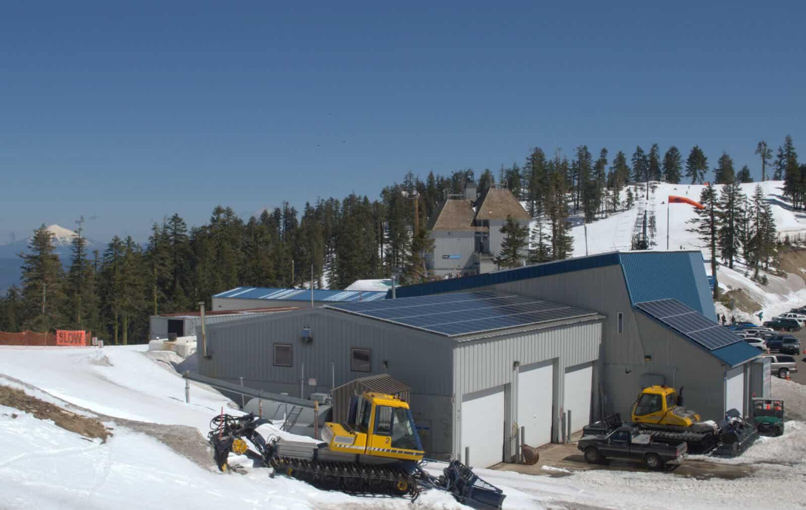 Solar Panels at Mt. Ashland