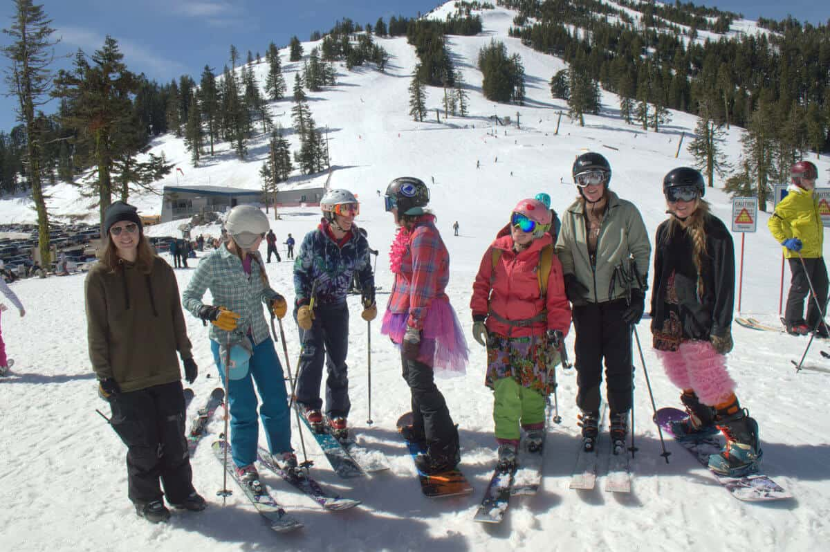 Get the Girls Out Day at Mt. Ashland in 2017