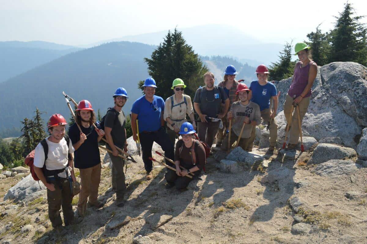 The Siskiyou Mtn Club helps maintain Mt. Ashland's slopes