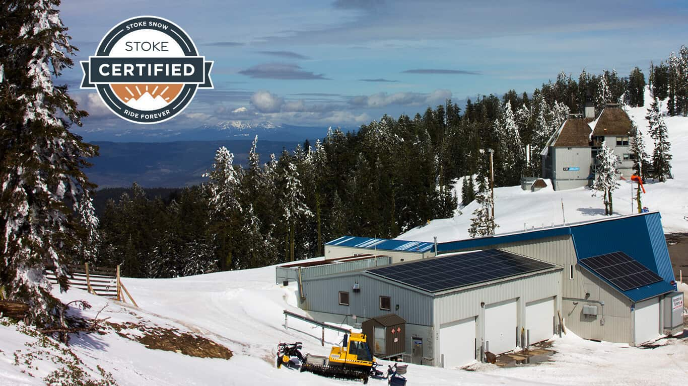 Mt. Ashland - a STOKE Certified ski area