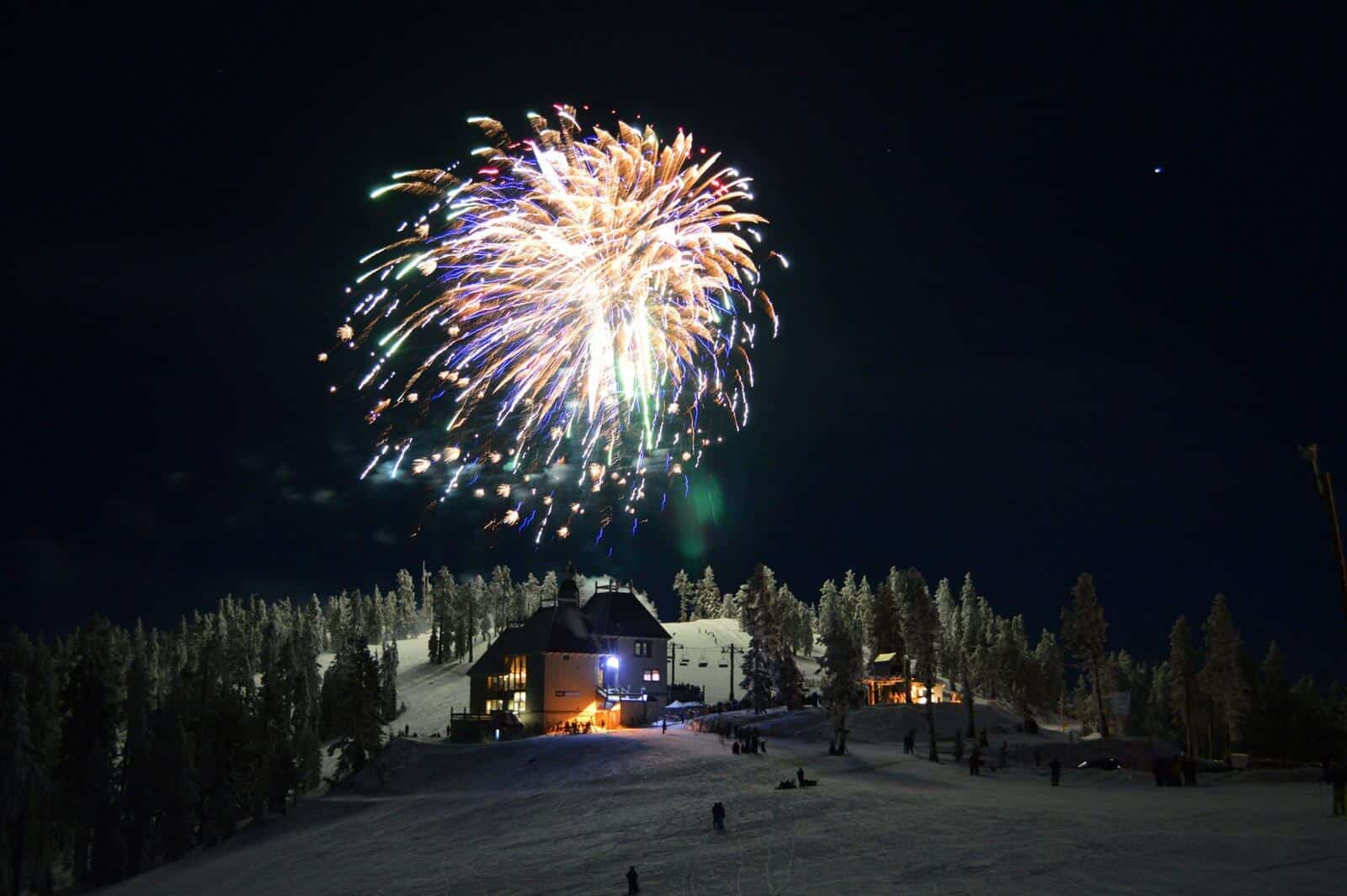 Bavarian Night fireworks at Mt. Ashland