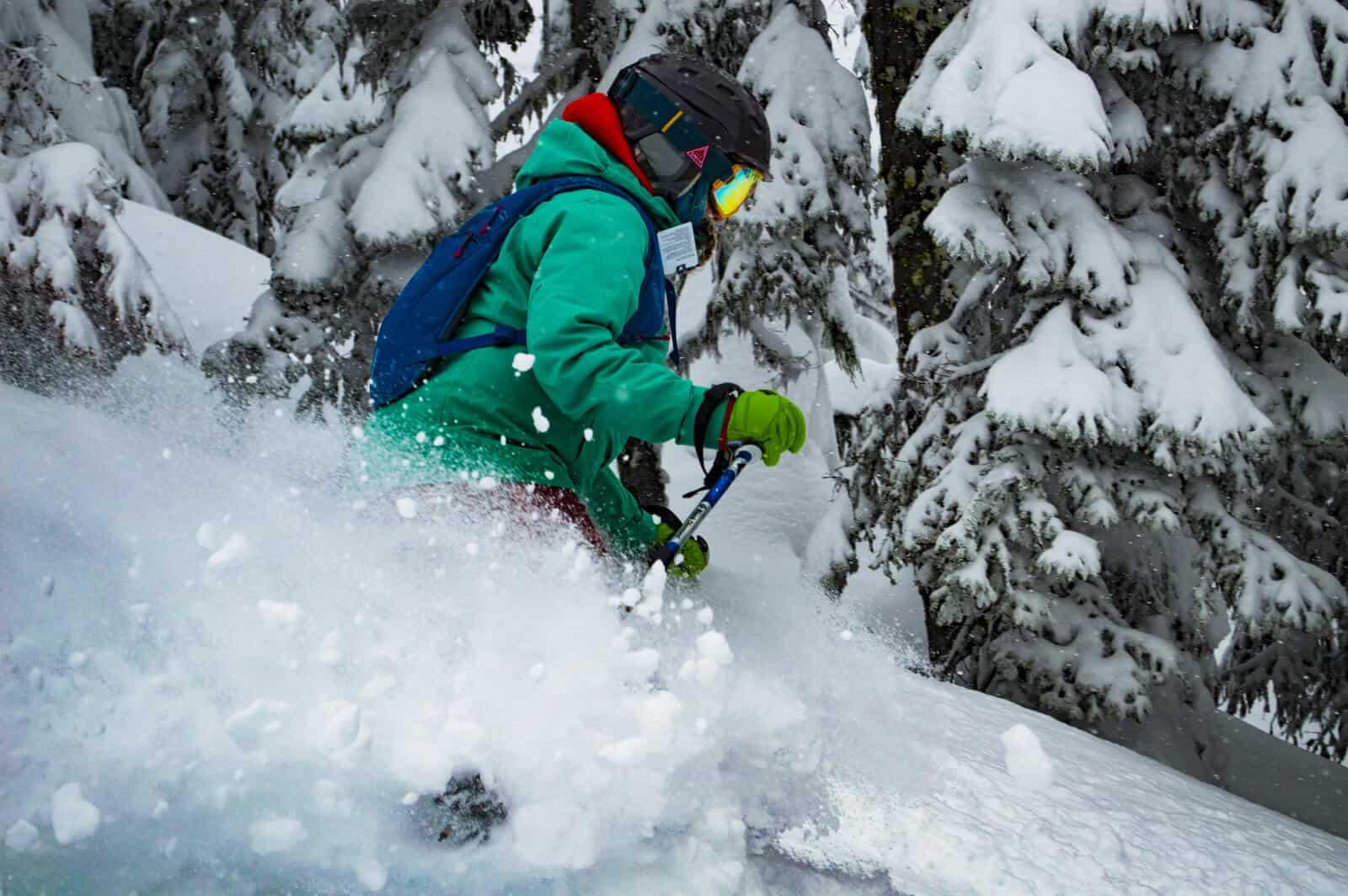 More poweder skiing at Mt. Ashland