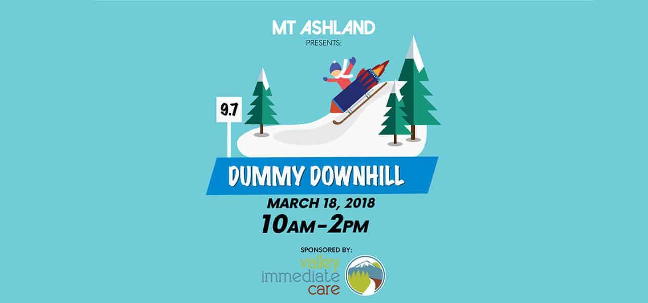 Mt. Ashland's Dummy Downhill is on March 18