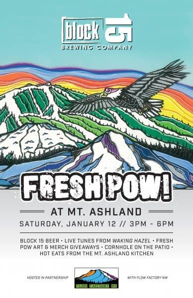 Fresh Pow Party at Mt. Ashland