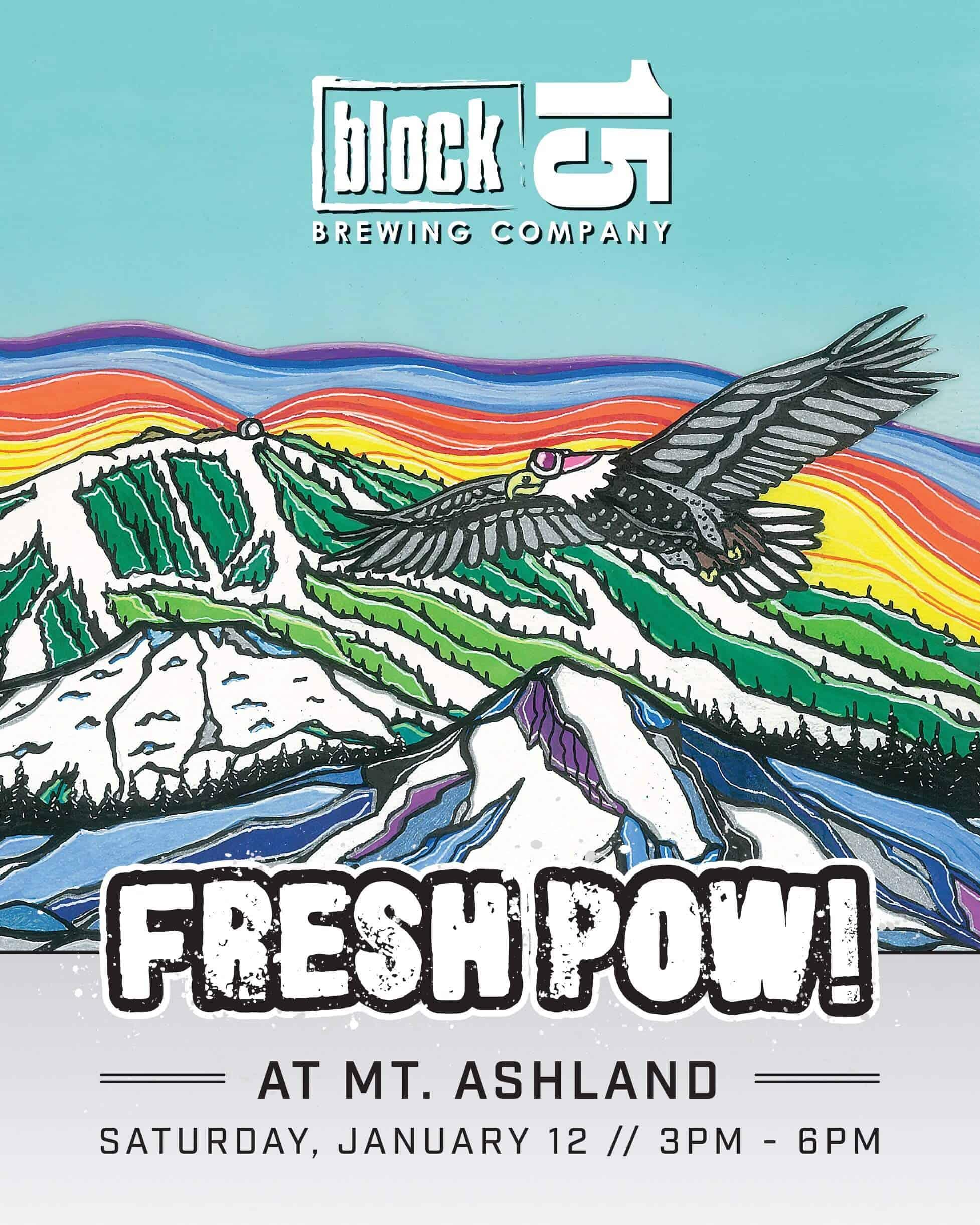 Fresh Pow @ Mt. Ashland
