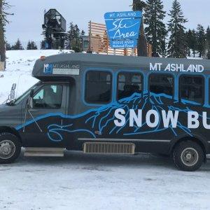 Mt. Ashland's SNOW BUS