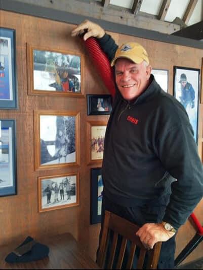 Chris Hald, a Mt. Ashland legend