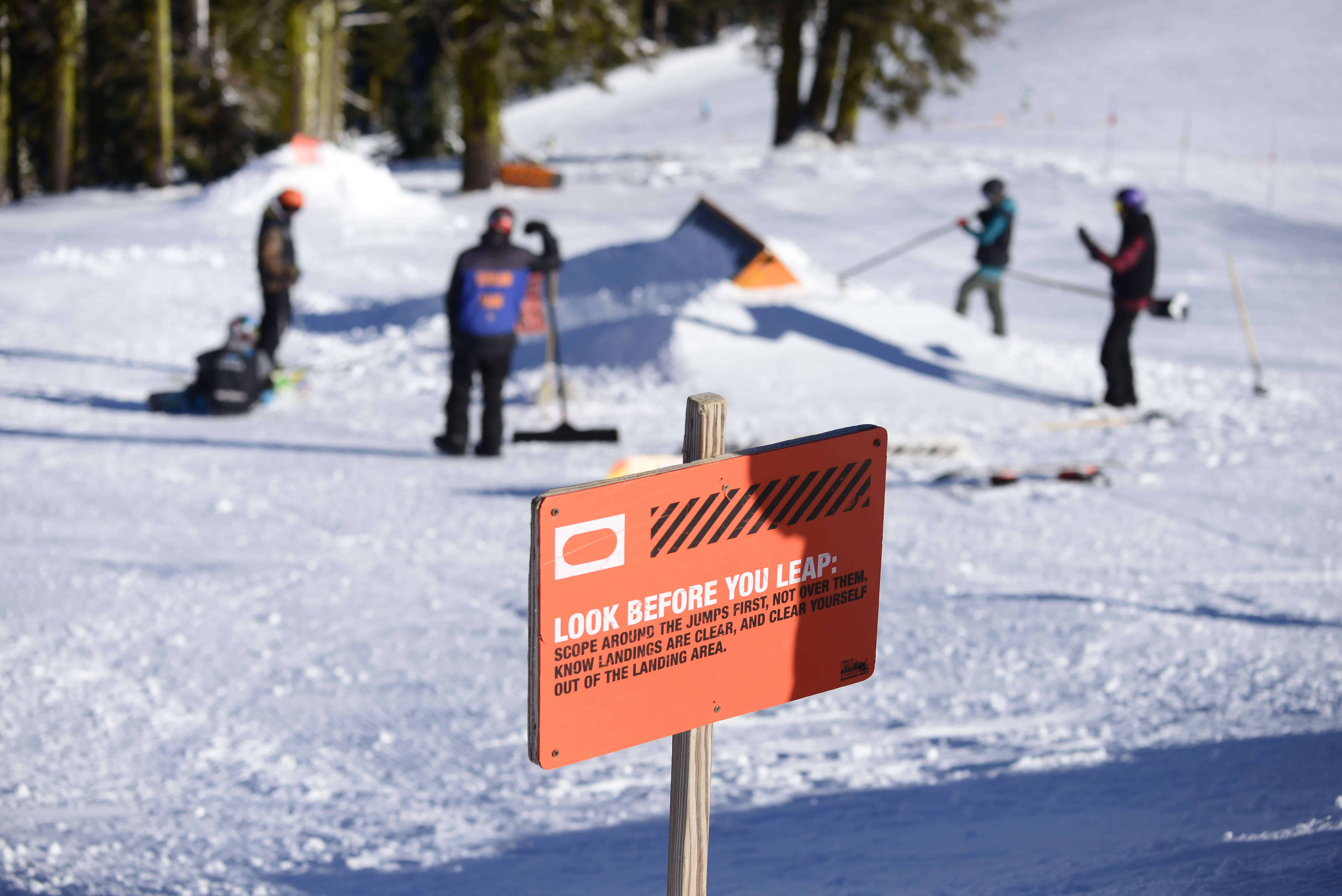 Terrain Parks - Mt  Ashland Ski Area