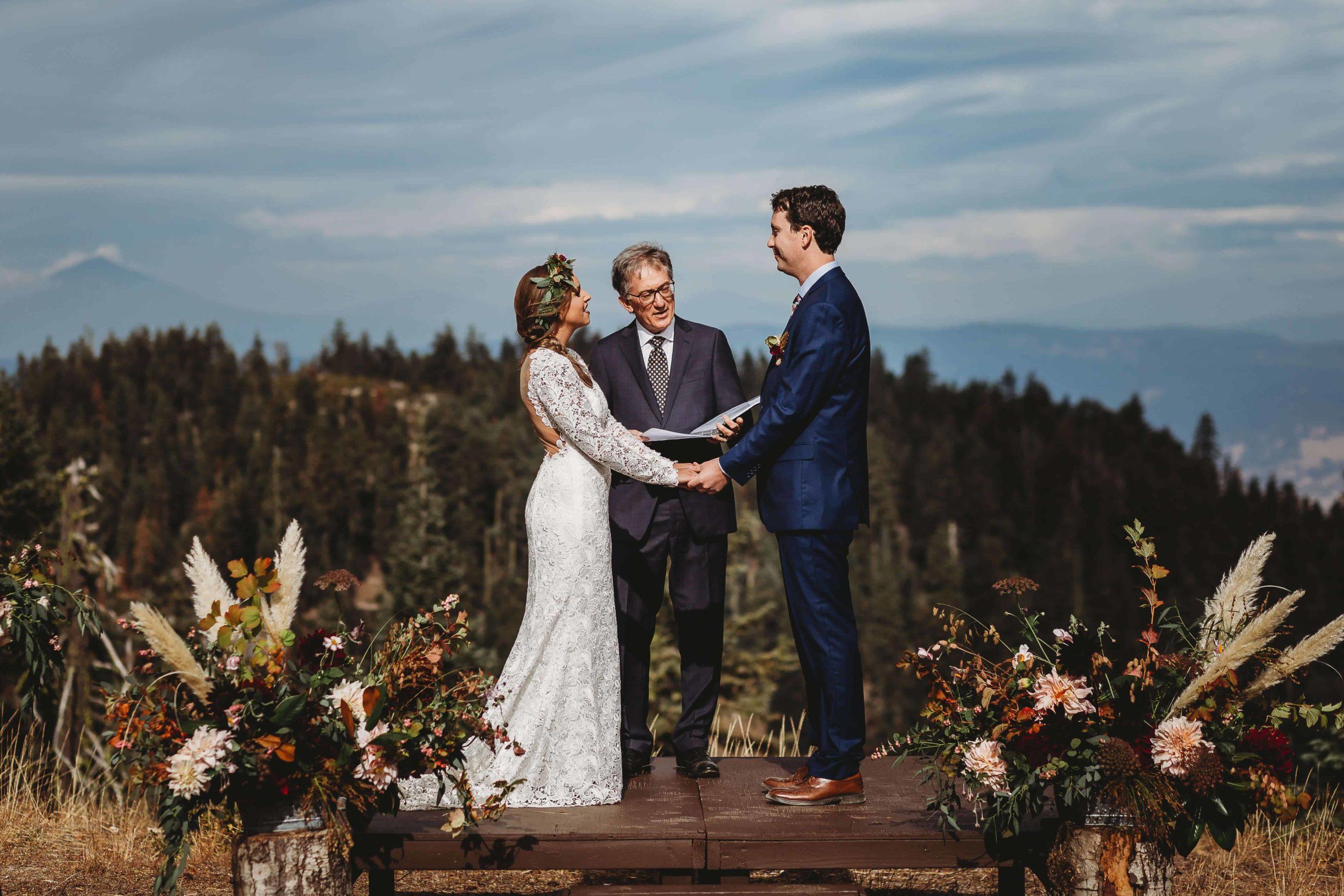 Mt. Ashland Is A Beautiful Southern Oregon Wedding Venue.