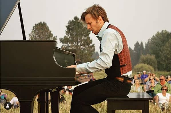 In A Landscape Piano Concert