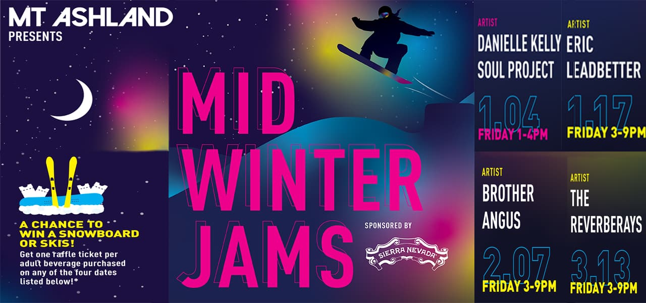 Mid-Winter Jam Series at Mt. Ashland