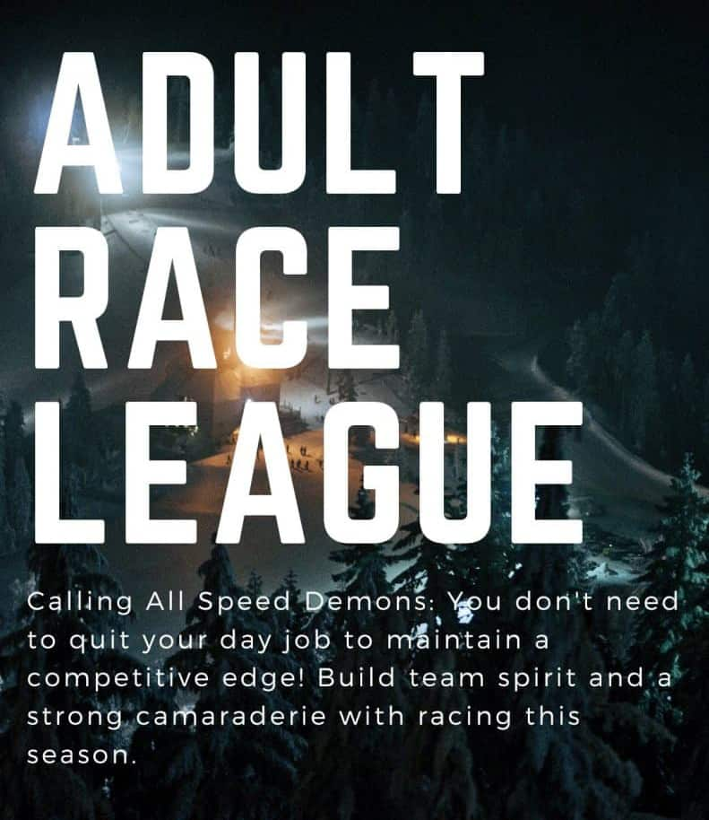 Adult Race League at Mt. Ashland