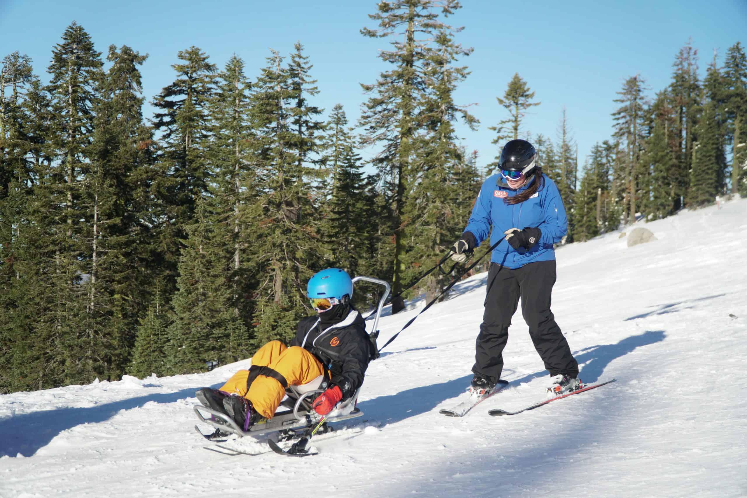 Adaptive skiing at Mt. Ashland