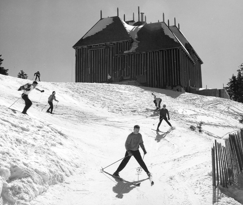 Historic image of Mt. Ashland