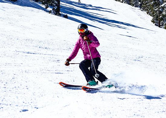 Skiing at Mt. Ashland