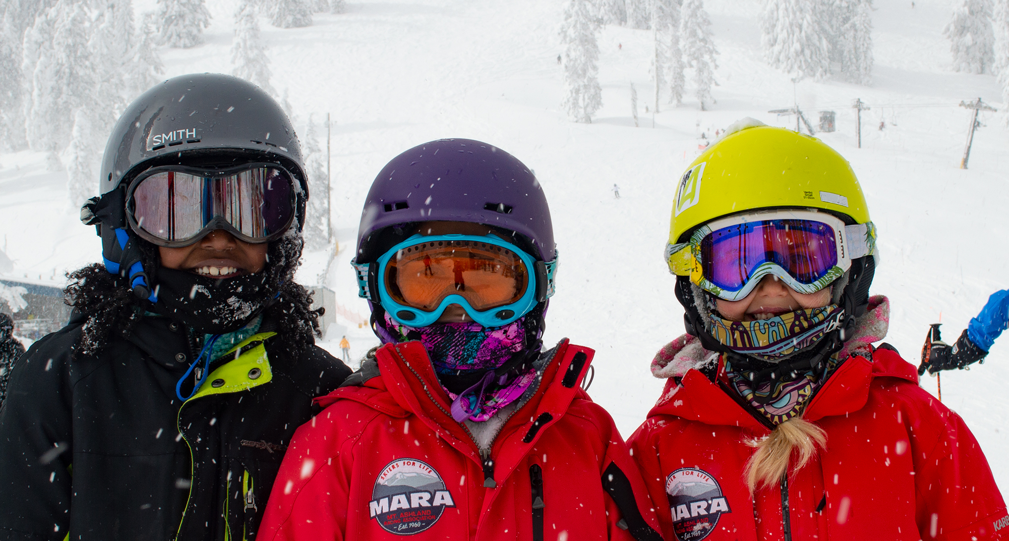 Mt. Ashland Guests Wearing Face Coverings