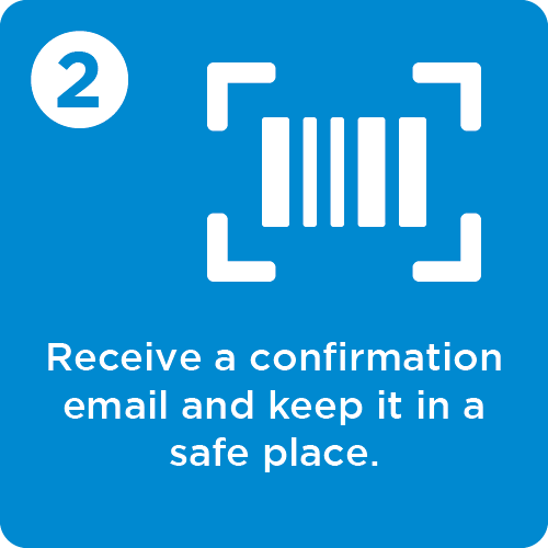 Step 2 - save the confirmation email
