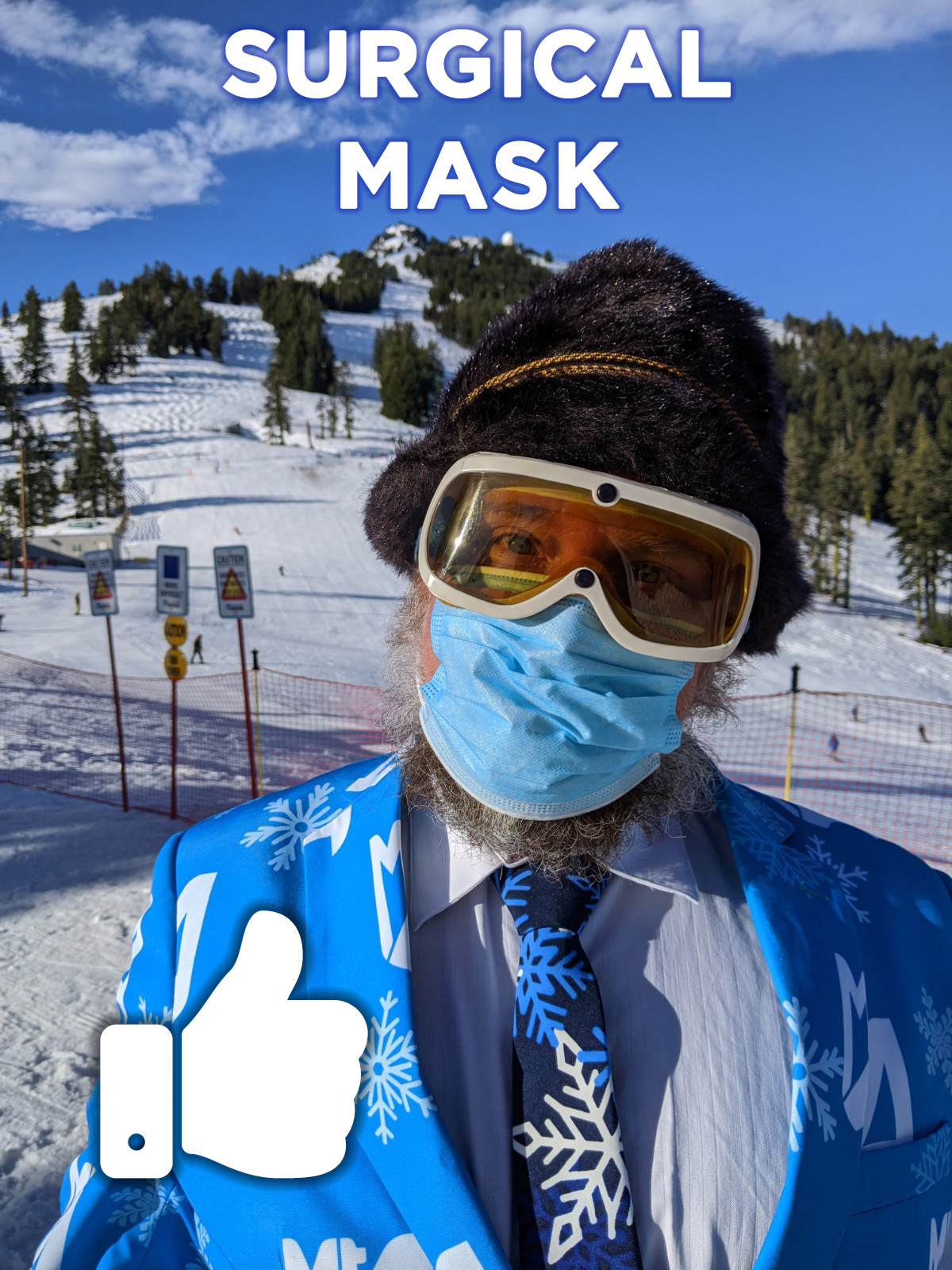 Surgical Mask - Thumbs Up!